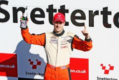 Racing Saloon - Snetterton Win